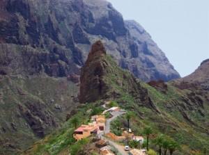 Dorf Masca auf Teneriffa - Cornerstone  / pixelio.de