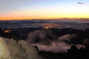 Blick vom Gipfel des Teide
