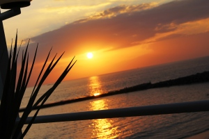 Sonnenuntergang in Adeje